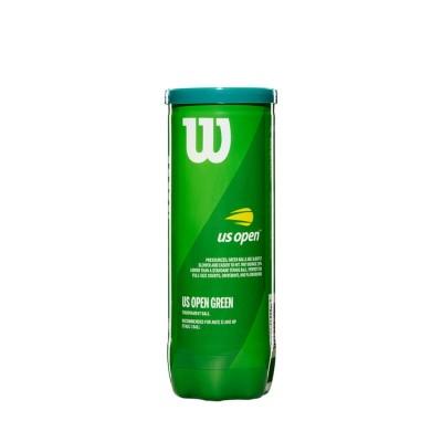 Bola de Tênis US Open Starter Verde Pack com 3 Bolas - Wilson