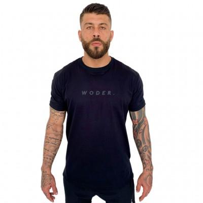 Camiseta Logo Cinza Unissex - Woder
