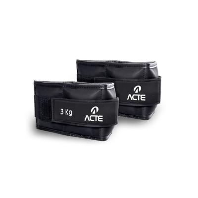 Caneleira de Peso Kit 6KG (2x 3kg) - Acte
