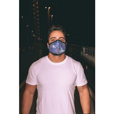 Máscara Lurk 108 Camuflado Azul