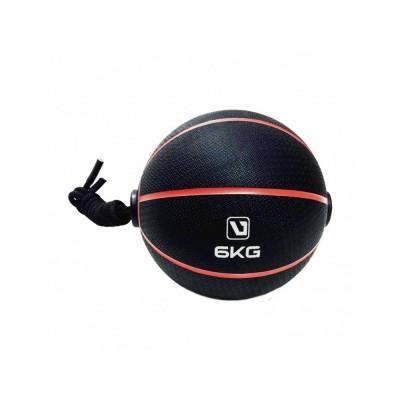 Bola Medicine Ball 6kg com Corda - Liveup Sports