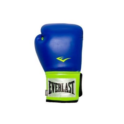 Luvas de Treino Pro Style Azul/Verde 12 OZ - Everlast