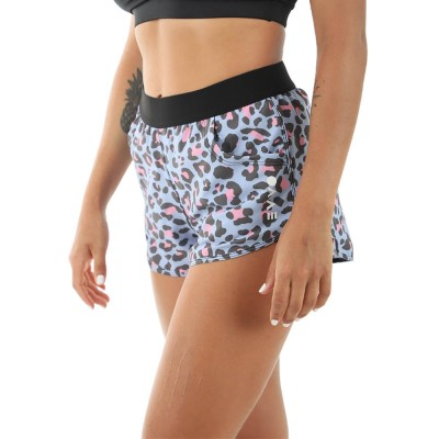Short EVVO Blue Cheetah
