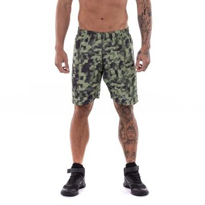 Bermuda Shorts Workout Camuflado Masculino - Everlast