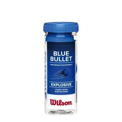 Bola de Frescobol Blue Bullet Pack com 3 Bolas - Wilson